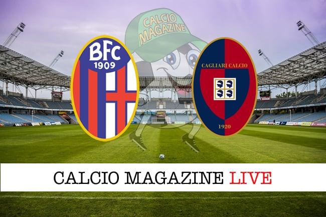 Bologna - Cagliari 2-0, il tabellino