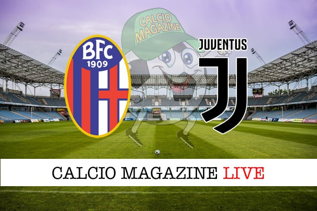 Bologna Juventus cronaca diretta risultato in tempo reale