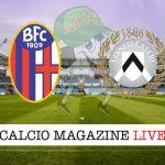 Bologna Udinese cronaca diretta live risultato in tempo reale