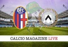 Bologna Udinese cronaca diretta risultato in tempo reale