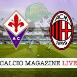Fiorentina Milan cronaca diretta live risultato in tempo reale