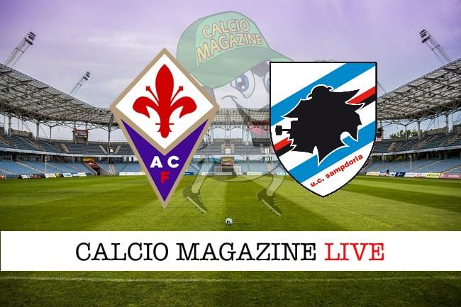 Tim Cup, Fiorentina-Sampdoria: cronaca diretta, risultato