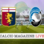 Genoa Atalanta cronaca diretta risultato in tempo reale