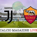 Juventus Roma cronaca diretta live risultato in tempo reale