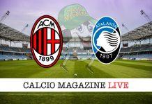 Milan Atalanta cronaca diretta risultato tempo reale