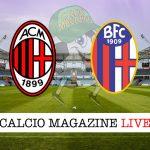 Milan Bologna cronaca diretta live risultato in tempo reale