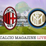 Milan Inter cronaca diretta risultato tempo reale
