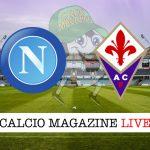 Napoli Fiorentina cronaca diretta risultato live