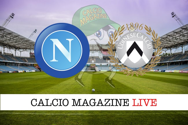 Napoli Udinese cronaca diretta live risultato in tempo reale