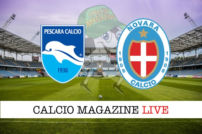 Pescara-Novara 1-0, tabellino: decide Brugman nel 1° tempo