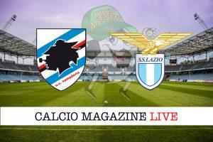 Sampdoria Lazio cronaca diretta live risultato in tempo reale