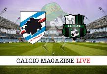 Sampdoria-Sassuolo