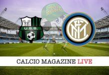 Sassuolo Inter cronaca diretta risultato live