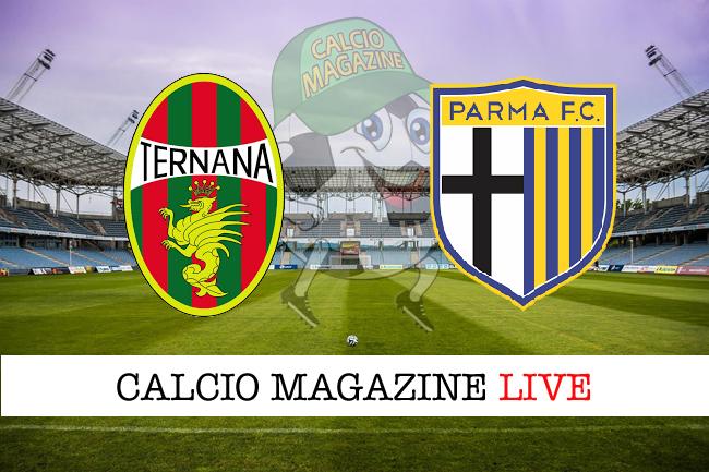Ternana-Parma cronaca diretta e risultato in tempo reale