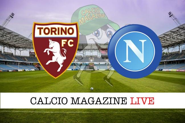 Torino Napoli cronaca diretta live risultato in tempo reale