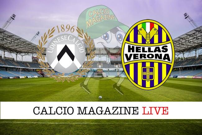 Udinese Verona cronaca diretta live risultato in tempo reale