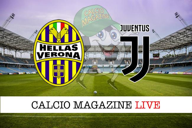 Verona-Juventus cronaca diretta, risultato in tempo reale