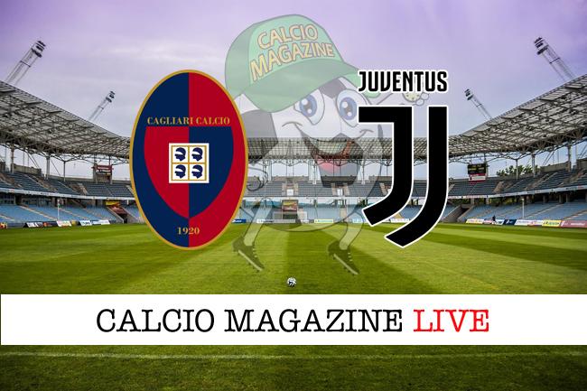 Cagliari Juventus cronaca diretta live risultato in tempo reale