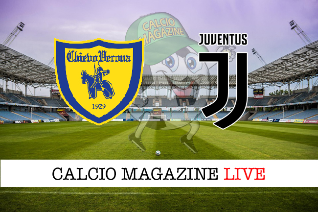 Chievo Juventus cronaca diretta risultato live