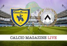 ChievoVerona Udinese cronaca diretta risultato tempo reale