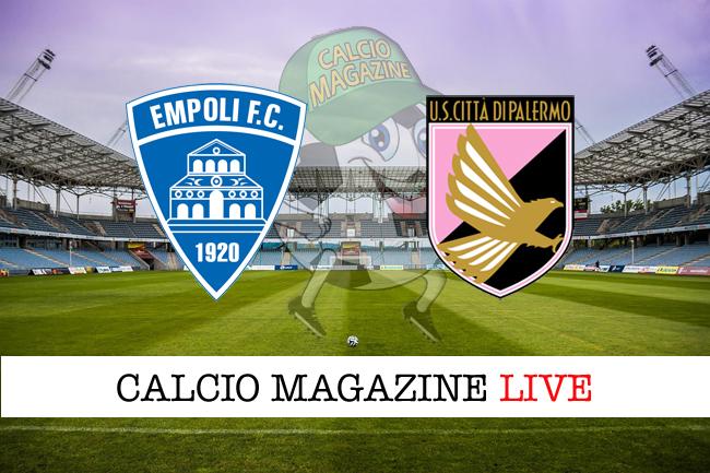 Serie B, Empoli-Palermo 4-0: tripletta per Caputo [cronaca]