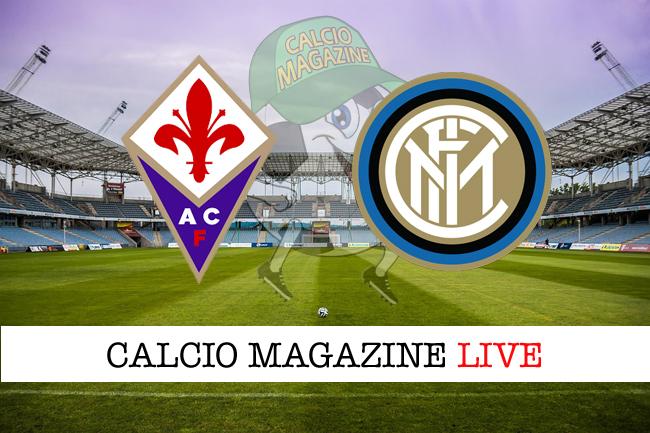 Fiorentina Inter cronaca diretta live risultato in tempo reale