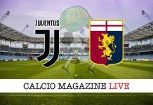 Juventus Genoa cronaca diretta risultato in tempo reale