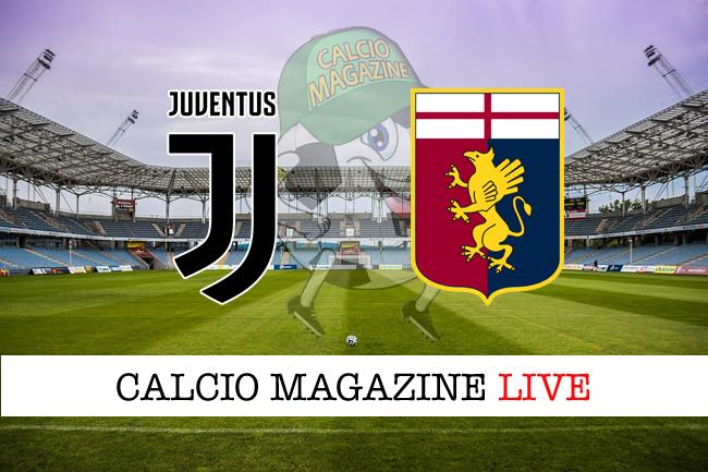 Juventus - Genoa, le formazioni ufficiali dal match