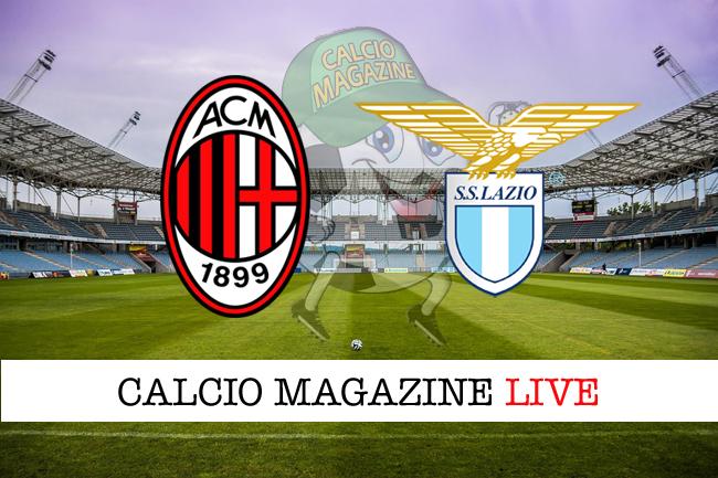 Milan Lazio cronaca diretta live risultato tempo reale
