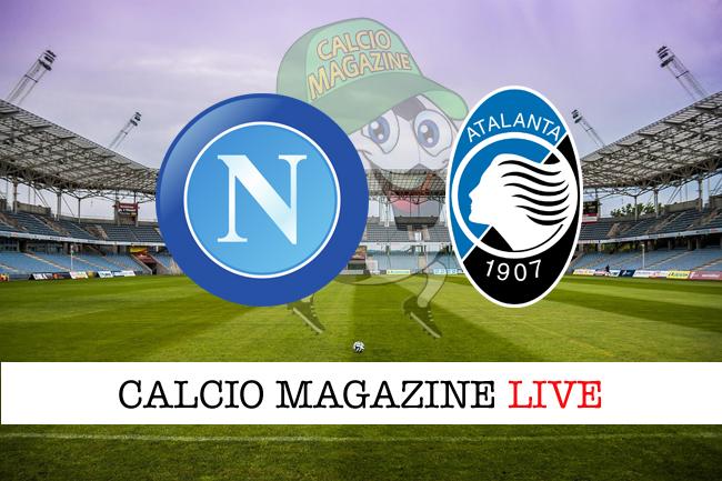 Napoli-Atalanta 1-2, tabellino: Castagne-Gomez, nerazzurri in semifinale