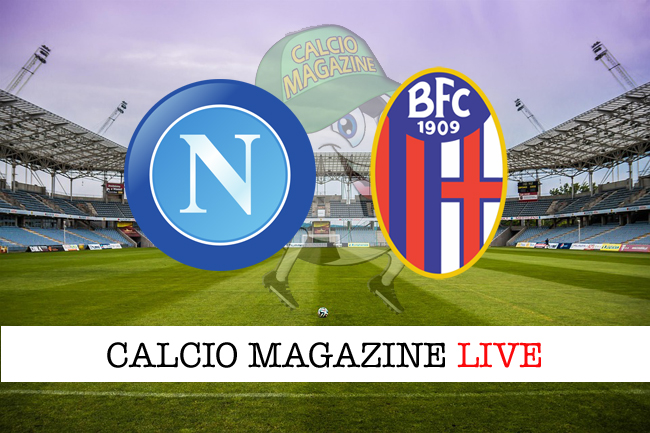 Napoli - Bologna, le formazioni ufficiali