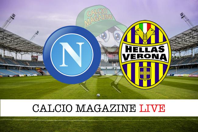 Napoli-Verona cronaca diretta, risultato in tempo reale