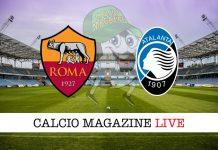 Roma Atalanta cronaca diretta risultato tempo reale
