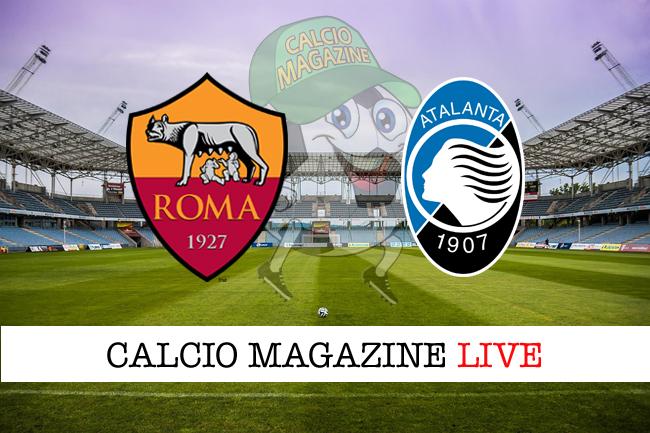 Roma Atalanta cronaca diretta live risultato tempo reale