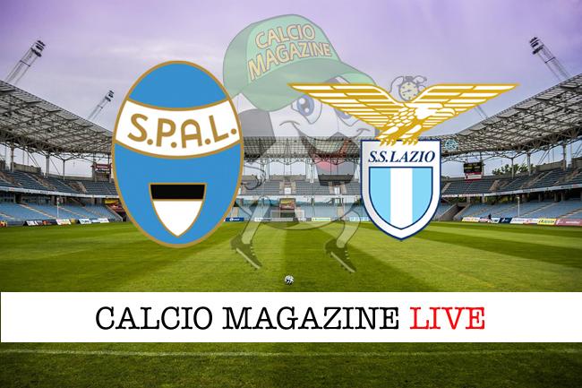 Spal Lazio cronaca diretta live risultato in tempo reale