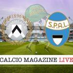 Udinese Spal cronaca diretta live risultato in tempo reale