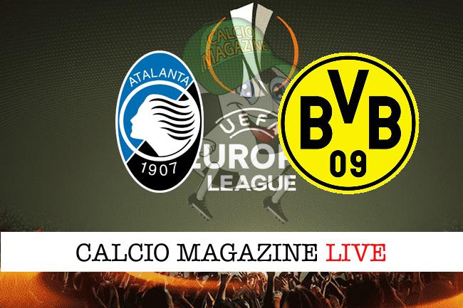 Atalanta - Borussia Dortmund, le formazioni ufficiali