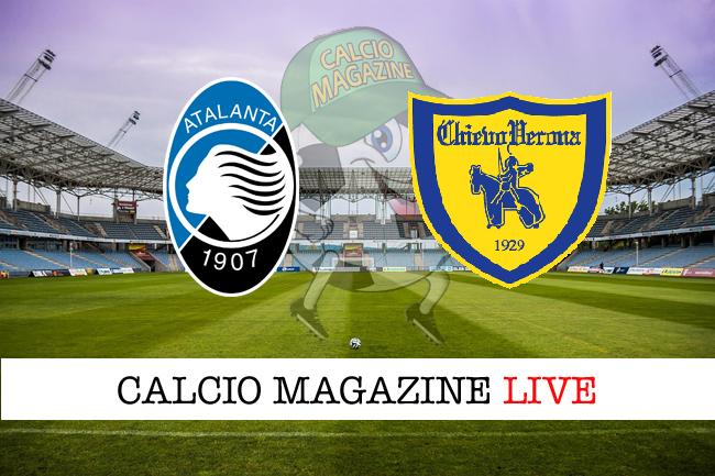 Atalanta Chievo Verona cronaca diretta live risultato in tempo reale