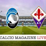 Atalanta Fiorentina cronaca diretta live risultato in tempo reale