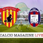 Benevento Crotone cronaca diretta live risultato in tempo reale