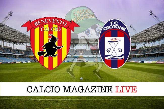 Benevento Crotone cronaca diretta risultato in tempo reale