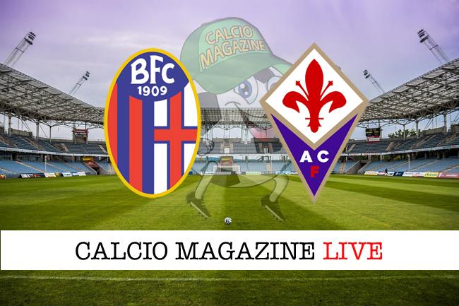 Bologna Fiorentina cronaca diretta live risultato in tempo reale