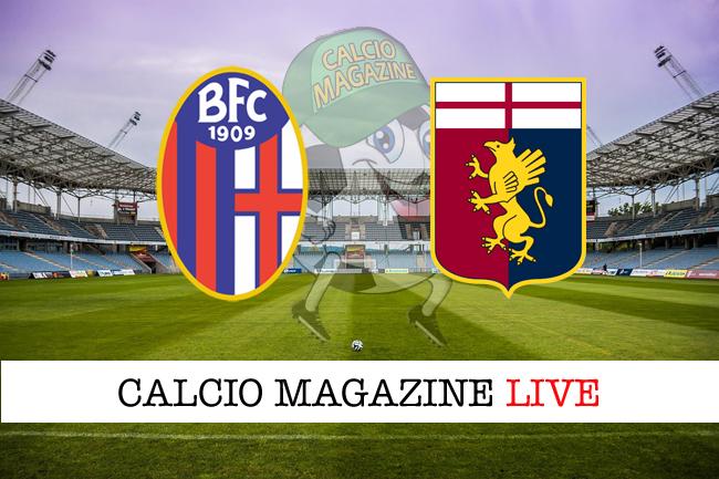 Bologna Genoa cronaca diretta live risultato in tempo reale