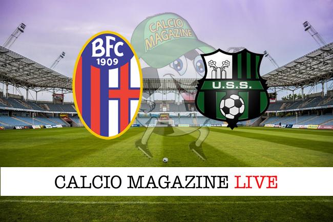 Bologna-Sassuolo: le formazioni ufficiali