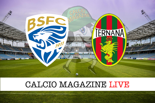 Brescia-Ternana: cronaca diretta, risultato in tempo reale