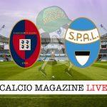 Cagliari Spal cronaca diretta live risultato in tempo reale