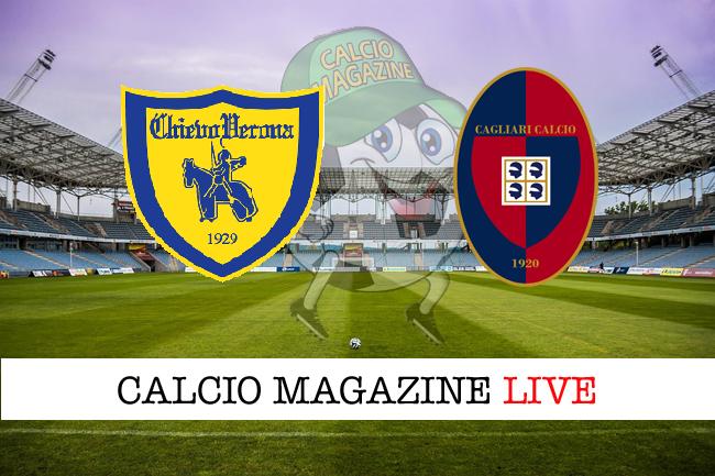 Chievo-Cagliari 2-1, il tabellino