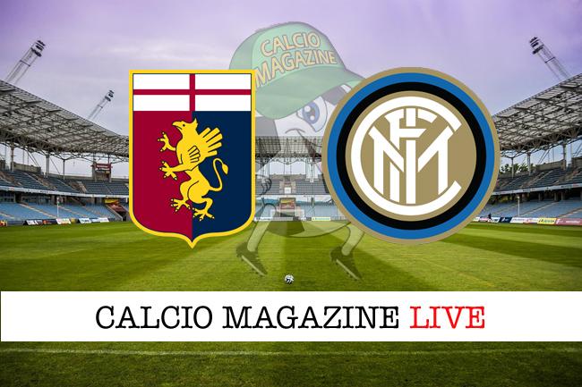 Genoa Inter cronaca diretta live risultato in tempo reale