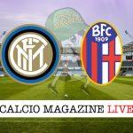 Inter Bologna cronaca diretta live risultato tempo reale