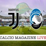 Juventus Atalanta cronaca diretta live risultato in tempo reale